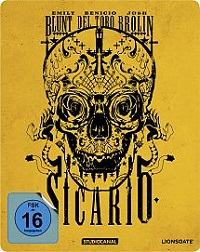 Sicario - BluRay-Blechdose