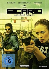 Sicario - DVD-Cover