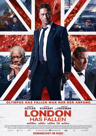 London has fallen - Plakat
