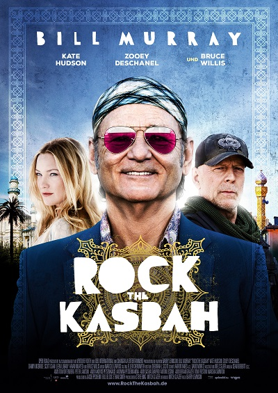 Rock The Kasbah - Plakat