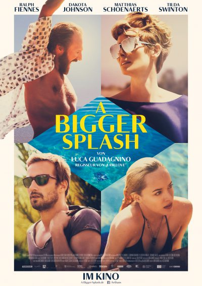 A Bigger Splash - Plakat