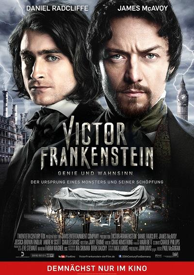 Viktor Frankenstein - Plakat