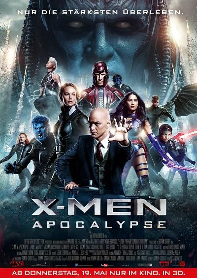 X-Men Apocalypse - Plakat