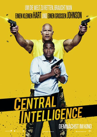 Central Intelligence - Plakat