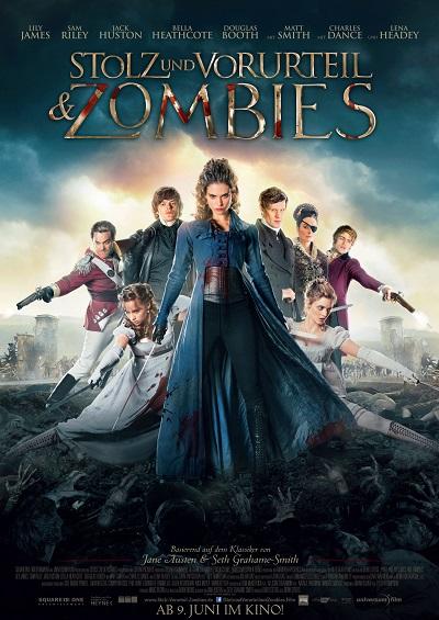 Stolz und Vorurteil und Zombies - Plakat