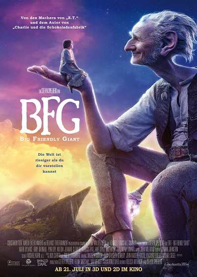 BFG - Big Friendly Giant - Plakat