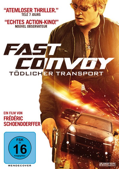 Fast Convoy - DVD-Cover
