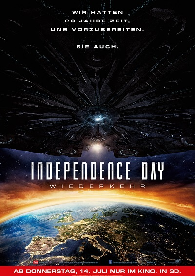 Independence Day 2 - Plakat
