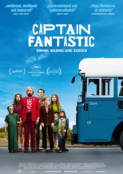 Captain Fantastic - Plakat