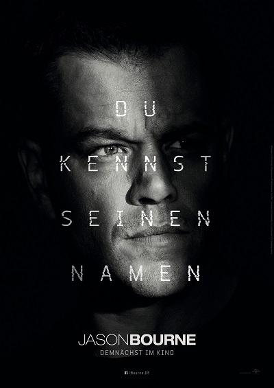 Jason Bourne - Plakat