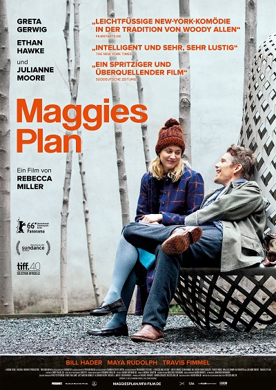 Maggies Plan - Plakat
