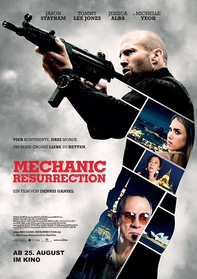 Mechanic Resurrection - Plakat