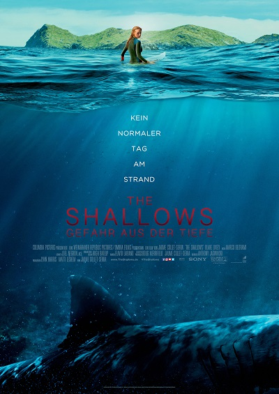 The Shallows - Plakat