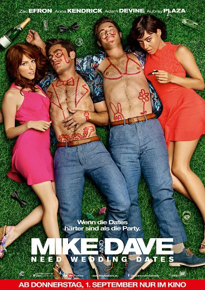 Mike and Dave need Wedding Dates - Plakat