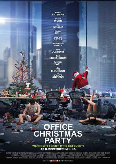 office-christmas-party-plakat